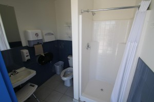 One of Eight Private Bathrooms in New Bathhouse